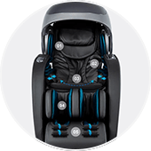 Air compression massage of Osaki OS-4D Escape massage chair