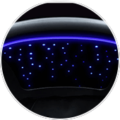 Osaki OS-4D Escape massage chair has chromotherapy lights