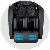 Osaki OS-4D Escape massage chair with foot roller massage