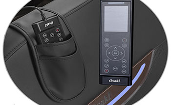 Osaki Pro Capella easy to use remote control