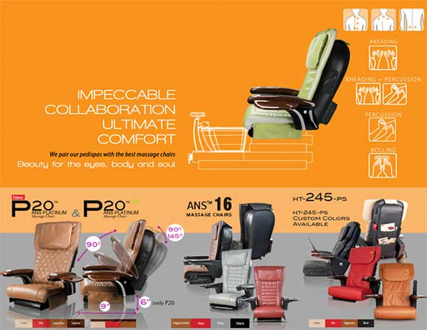 Gspa W massage chair