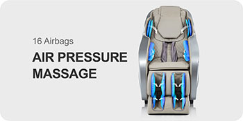 Air bags of Titan Oppo 3D massage chair