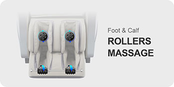 foot rollers of Titan Oppo 3D massage chair
